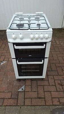 Zanussi Double Oven 50cm gas cooker