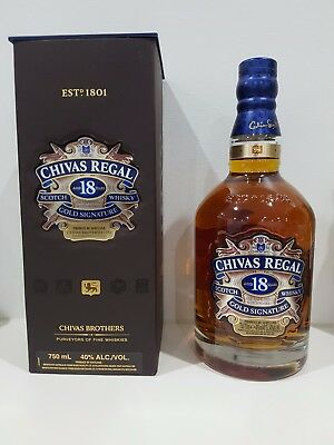 Chivas Regal 18Yo, Rare Size Bottle, Collectors Item