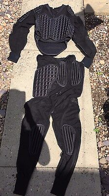 rugby full out fit top trousers size xl padding