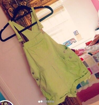 Vintage Green Dungarees The Cutest Item Size 8