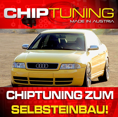 CHIPTUNING AUDI A4 (B5) 1.8T 150 PS & 180 PS S-PERFORMANCE zum Selbsteinbau