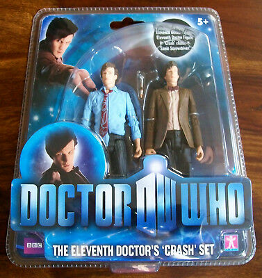 Doctor/Dr Who 11th/Eleventh Dr Crash Set Double Pack New Sealed MOC Raggedy Dr
