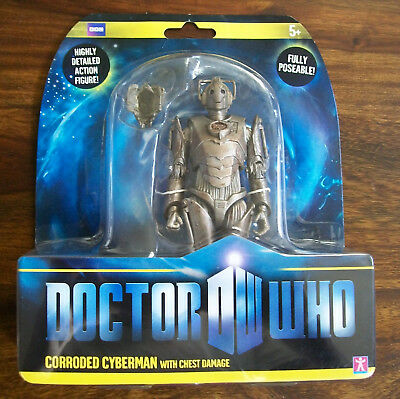 Doctor/Dr Who Corroded Cyberman w/ Limb Damage & Electric Shock Hands New Sealed