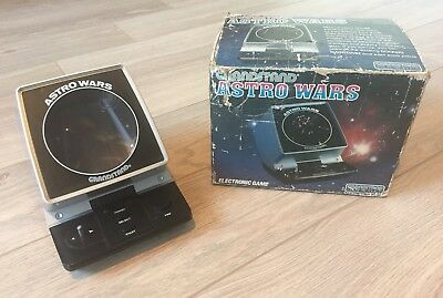 Vintage 1980s Grandstand Astro Wars Electronic Game - Spares or Repair