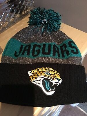 NFL Jacksonville Jaguars woolly hat worn once excellent condition one size