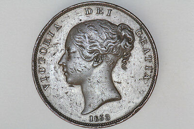 Great Britain - 1 penny 1853