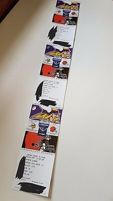 3 x NFL London 2017 Twickenham Tickets MINNESOTA VIKINGS v. CLEVELAND BROWNS