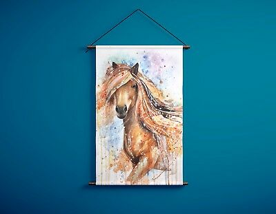 Horse Hanging Canvas Ready to Hang Home decor  600x900mm