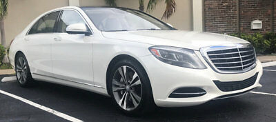 2014 Mercedes-Benz S-Class 4dr Sedan S 550 RWD 2014 MERCEDES BENZ S550V ABSOLUTELLY IMPECCABLE ONLY 18,000 ORIGINAL MILES WHITE
