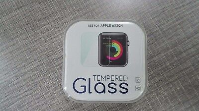 42mm Apple Watch Tempered Glass Protector with Dust Cleaner