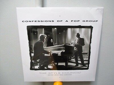 """The Style Council - Confessions Of A Pop Group (NEW 12"""" COLOURED VINYL LP)"""