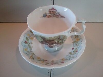 Royal Doulton Brambly Hedge The Engagement Cup & Saucer