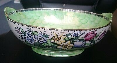 Maling Springtime Design Bowl, Decorative, Vintage, Unusual, Pretty Piece (DCB)