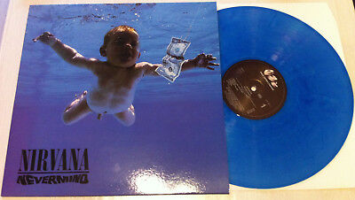 Nirvana - Nevermind - blue VINYL, LP,  foo fighters, hole, alice in chains