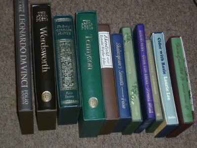 Folio Society collection of 13  first class condition Hard back books