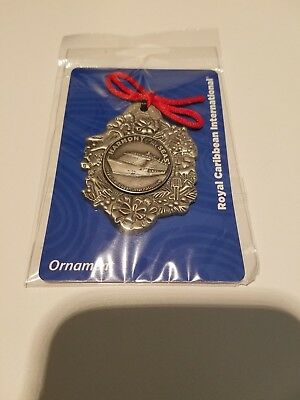 Royal Caribbean Harmony Of The Seas Christmas Ornament-New In Original Packaging