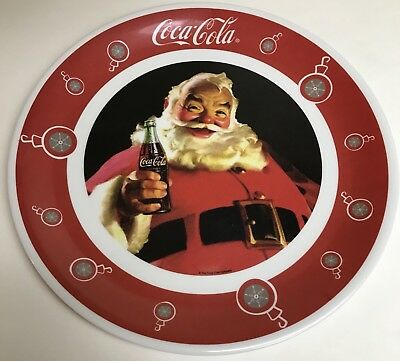 Coca Cola Santa Christmas Holiday Gibson Dinnerware Collectors Plate