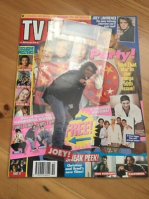Vintage TV Hits Magazine October 1993 Issue 50 - Take That, Joey Lawrence etc