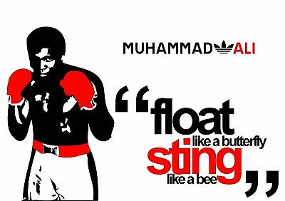 Muhammad Ali 01 Aka Cassius Clay Float Like A Butter Fly Mugs And Poster Prints