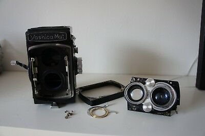 Yashica-Mat- For Parts Not Working