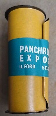 Vintage 1970s Ilford Panchromatic Exposed HP3(?) Film