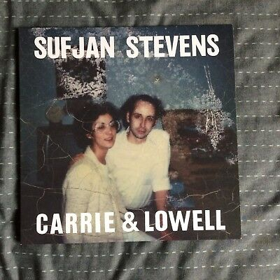 Sufjan Stevens - Carrie & Lowell Vinyl / bon iver the national sun kil moon