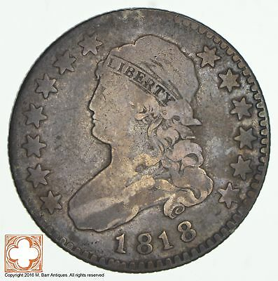 1818 Capped Bust Quarter *0824
