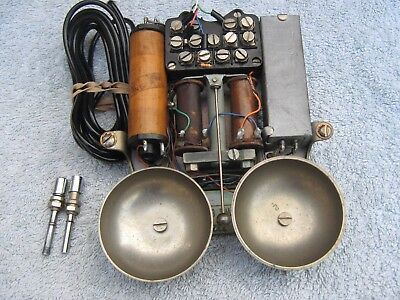 Ex Gpo 300 Series Chassis & Internal Bell-Set,for Bakelite Telephone(Working)