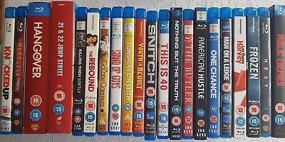Blu Ray Collection, Job Lot, 22 Movies In Total, Great Condition