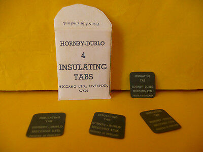 Hornby Dublo OO Gauge 57509 Crossover Point Insulating Tabs x 4