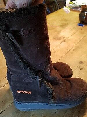 Rocket dog boots size 4, used, in good condition