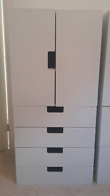 Ikea Stuva Childrens Cupboard / wardrobe Storage Combination - White - 1 of 3
