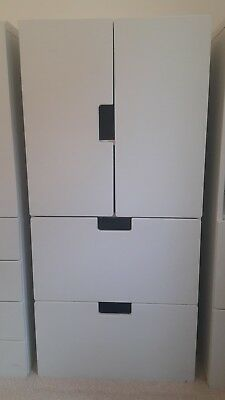 Ikea Stuva Childrens Cupboard / wardrobe Storage Combination - White - 2 of 3