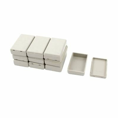 3X(10pcs Plastic Electronic Project Case Junction Box 58mmx35mmx15mm A6W5