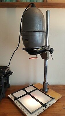 Vintage Photographic Gnome Beta Ii Enlarger With Original Case