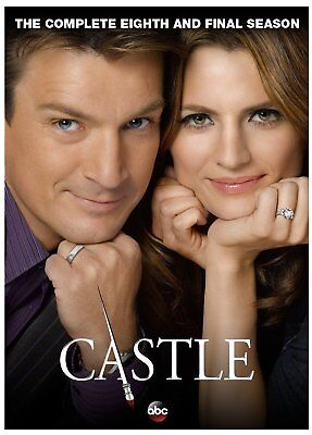 Castle: The Complete Eighth Season 8 And Final Season DVD, 2016, 5-Disc Set New