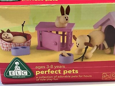 "ELC wooden ""perfect pets set"" for Rosebud Dolls House"