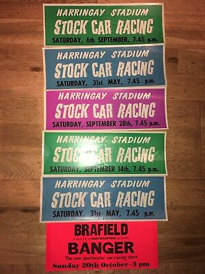Stock Car Racing Window Stickers