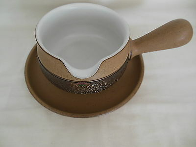 Denby  Cotswold Gravy/sauce Boat & Stand