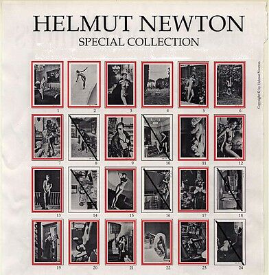 Helmut Newton - Special Collection - 3 x Photo Lithos Ihrer Wahl/ of your choice