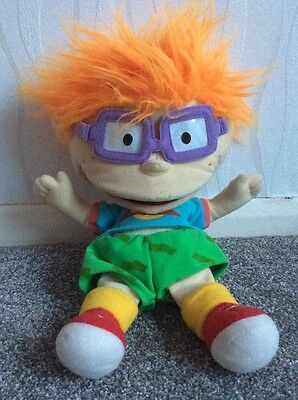 Applause Rugrats Chuckie Puppet **FREE UK POSTAGE** (B10)