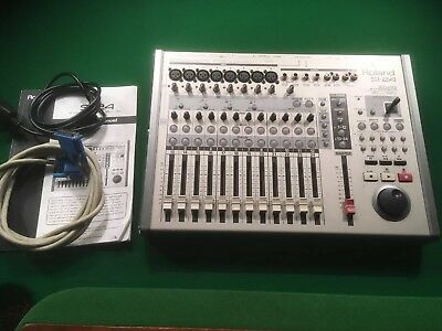 Roland SI-24 Studio Interface with R Bus cable. Used with VS2480