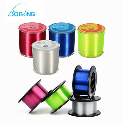 Bobing Strong Monofilament Nylon 200/500m Line For Fishing Games 0.8# to 8.0#