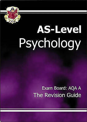 AS Psychology: AQA A Revision Guide by CGP Books (Paperback, 2004)