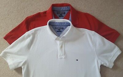 Two mens Tommy Hilfiger T-shirts