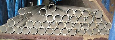 """1 1/2"""" Schedule 40 Stainless Steel 316 Tubing heavy-wall satin finished 20ft"""