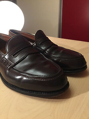 Penny Loafer - Heinrich Dinkelacker - Shell Cordovan - UK 12