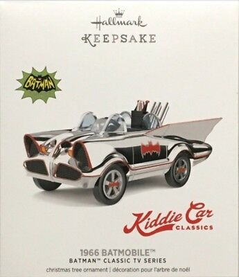 Hallmark Keepsake Kiddie Car Classics 1966 Batmobile Limited Ed. Ornament 2017