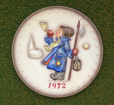 "1972 Goebel Hummel ""child Blowing Horn"" Collector Plate (Hum 265)"