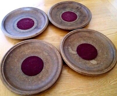 Vintage Church Collection/Offering Plates x 4